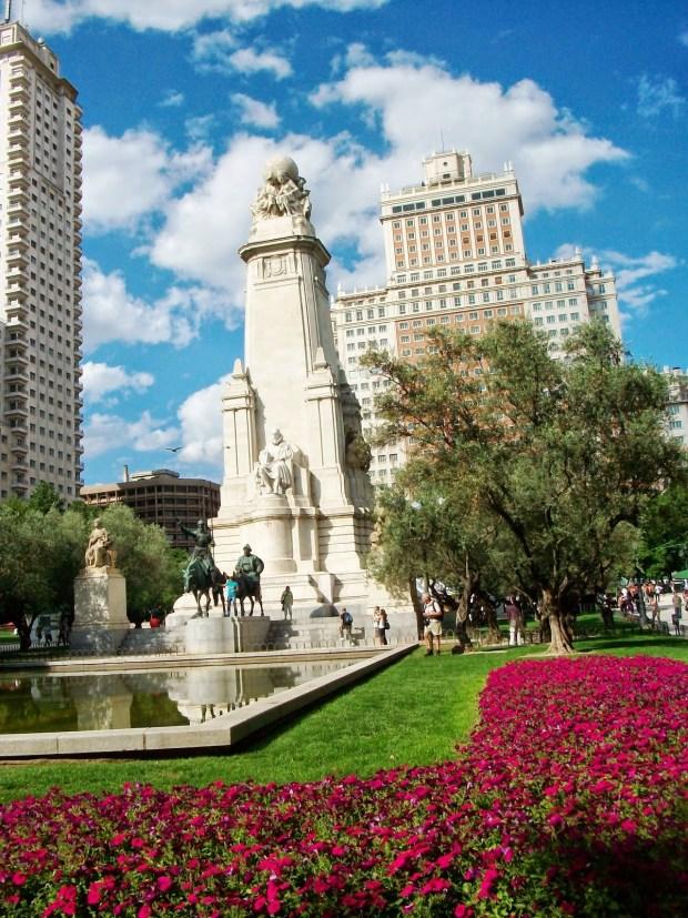 Madrid estatuacervantes