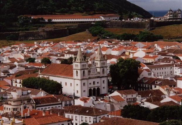 Angra do Heroísmo nos Açores