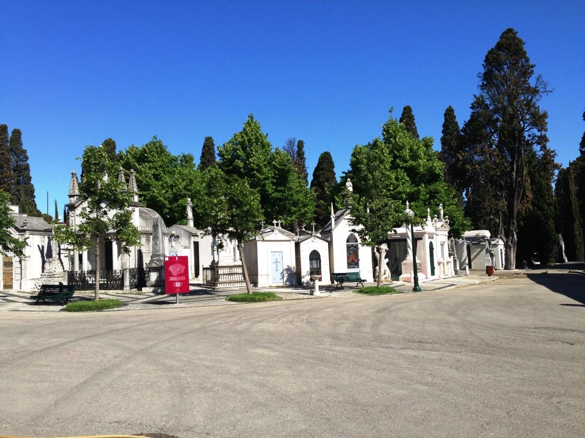 Lisboa, visita ao Cemitério dos Prazeres