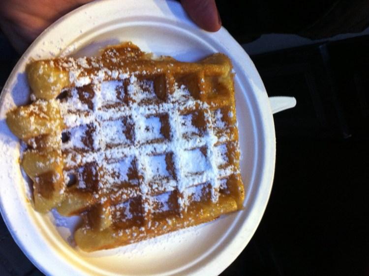 Waffle 1 razão para visitar a Bélgica