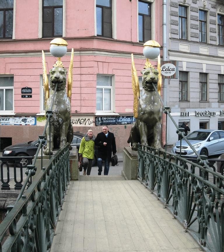 As mais bonitas pontes de São Petersburgo