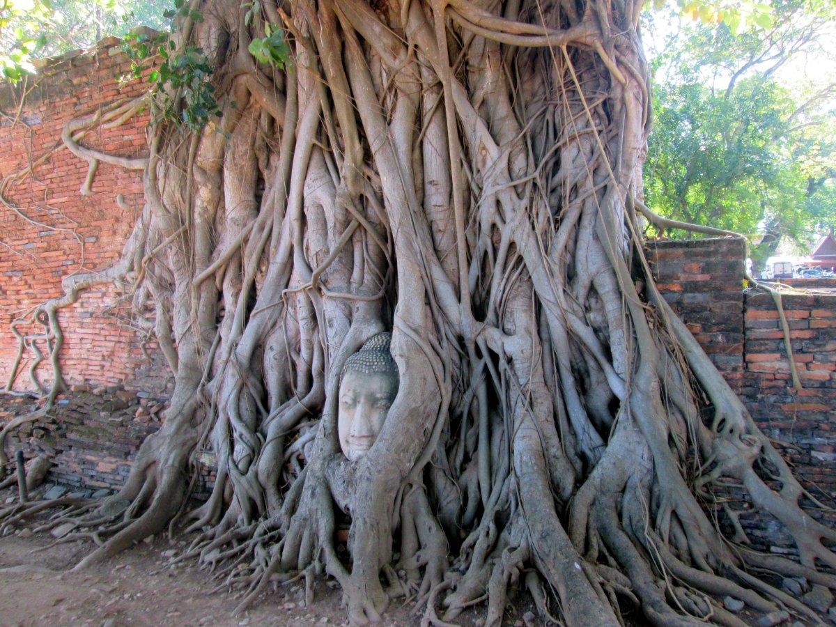 A cidade histórica de Ayutthaya