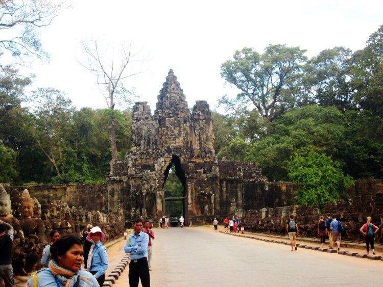 os templos Angkor Wat