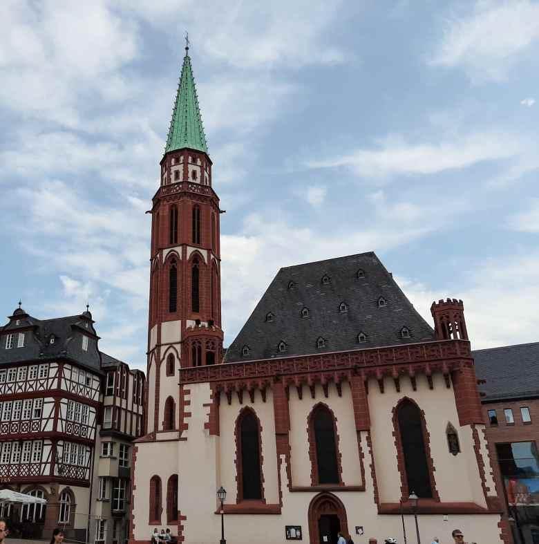 Frankfurt uma moderna cidade medieval