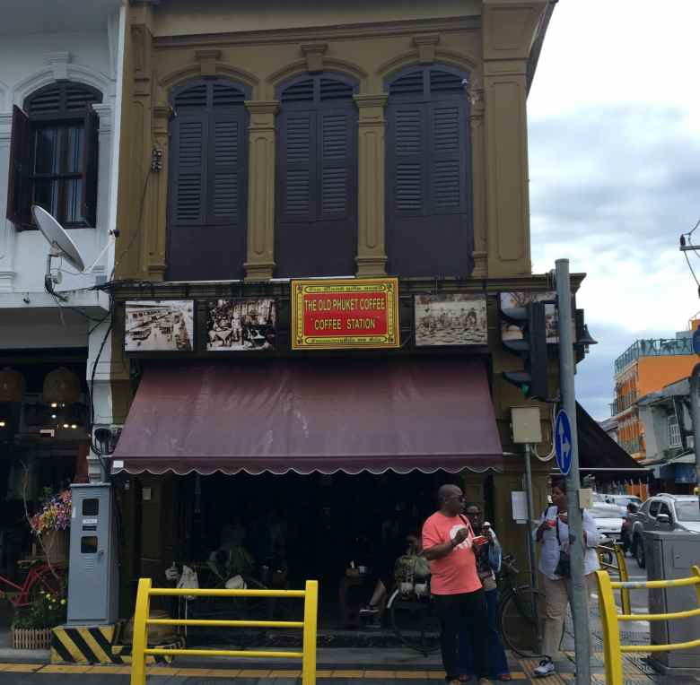 "Old Phuket Coffee ""Coffee Station"