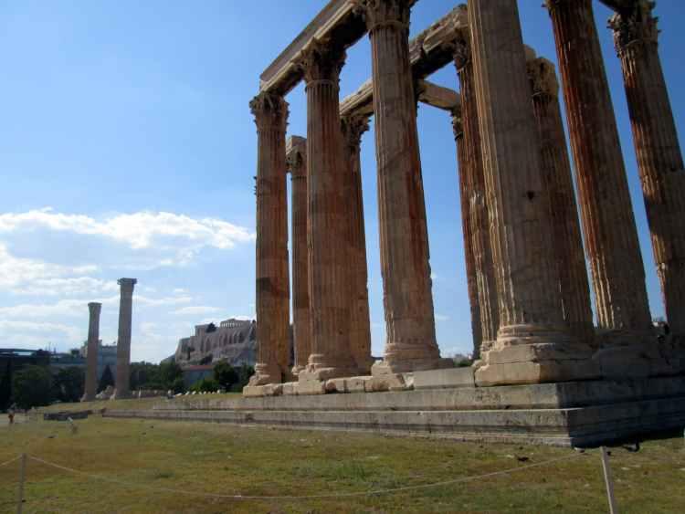 Athenas - Zeus Temple Atenas berço da civilização