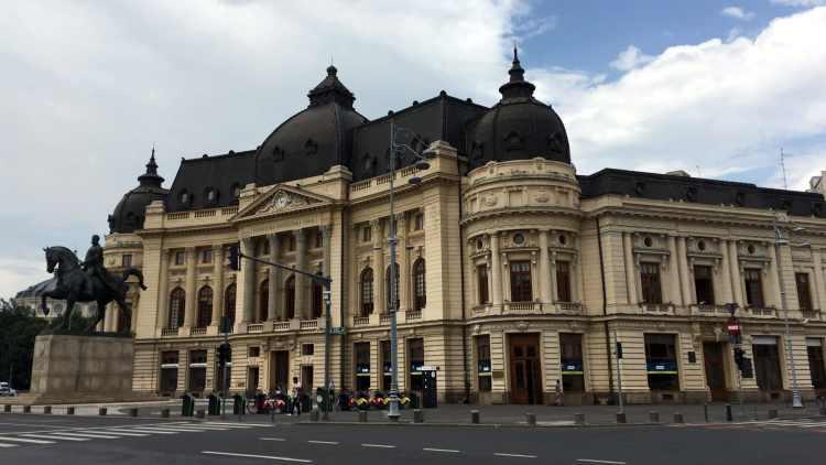 Bucareste - Biblioteca Universidade