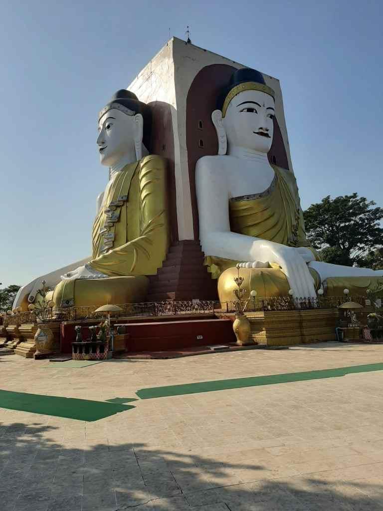 Bago cidade de lendas Pagode de Kyaik Pun