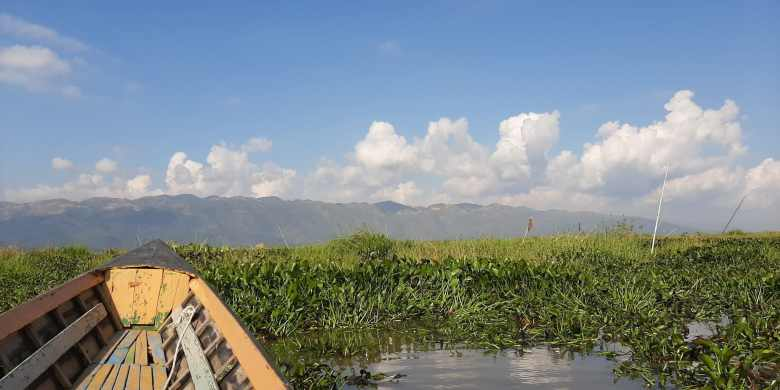 Inle Lake navegar ao sabor do Lago Inle