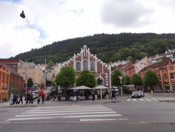 Bergen, the cultural capital of Norway and a world heritage city.