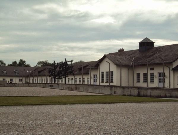 Inside Dachau Concentration Camp Memorial Site
