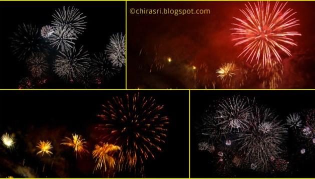 Geneva festival fireworks.