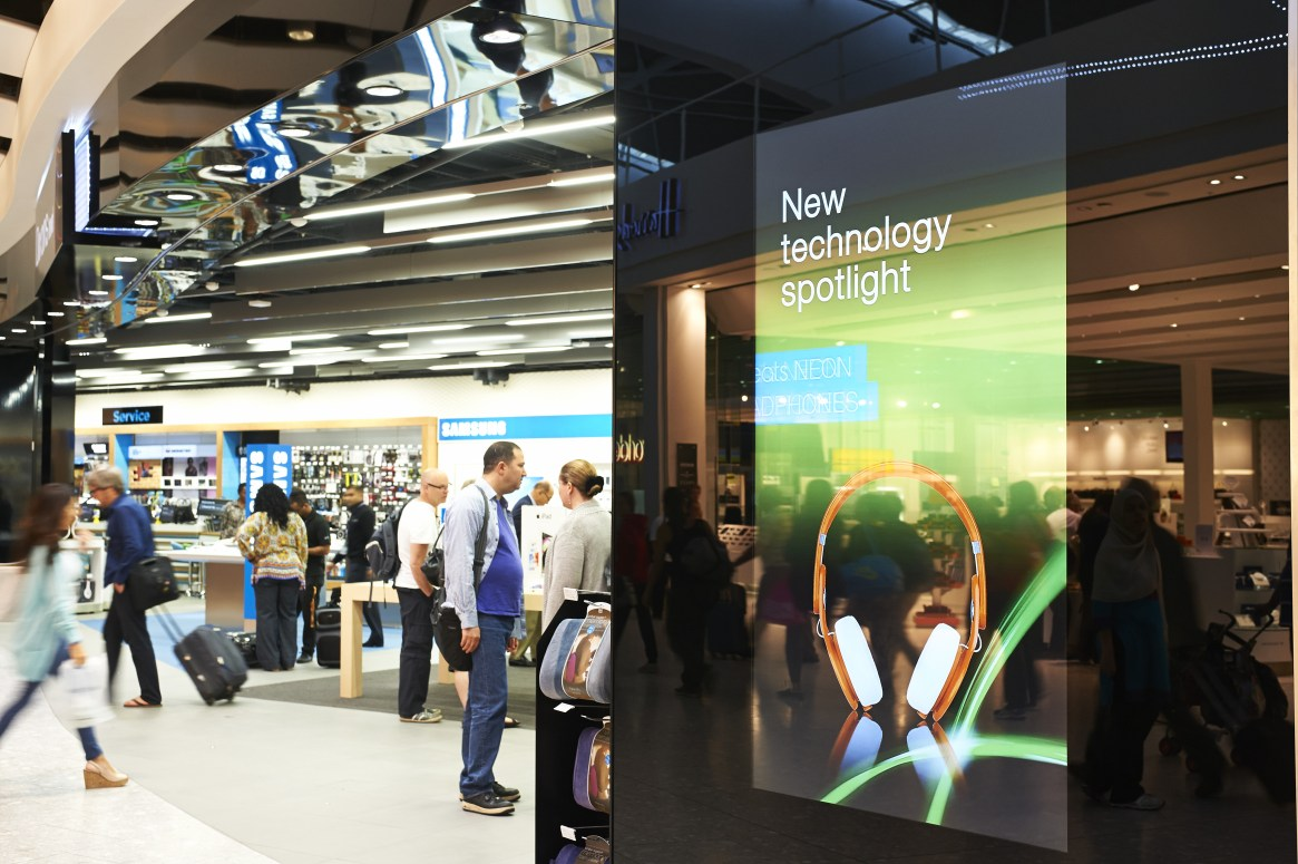 Travel Retail's Positive Disruptors: The airport store of the future