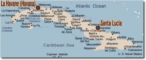Vacanza l'avana e playa Santa Lucia