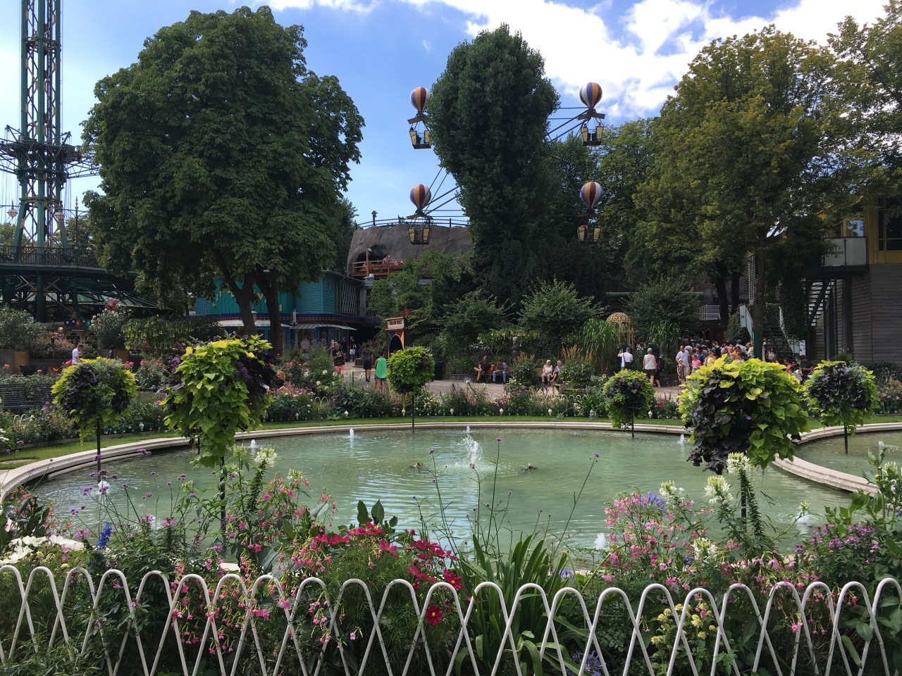 Tivoli fountain