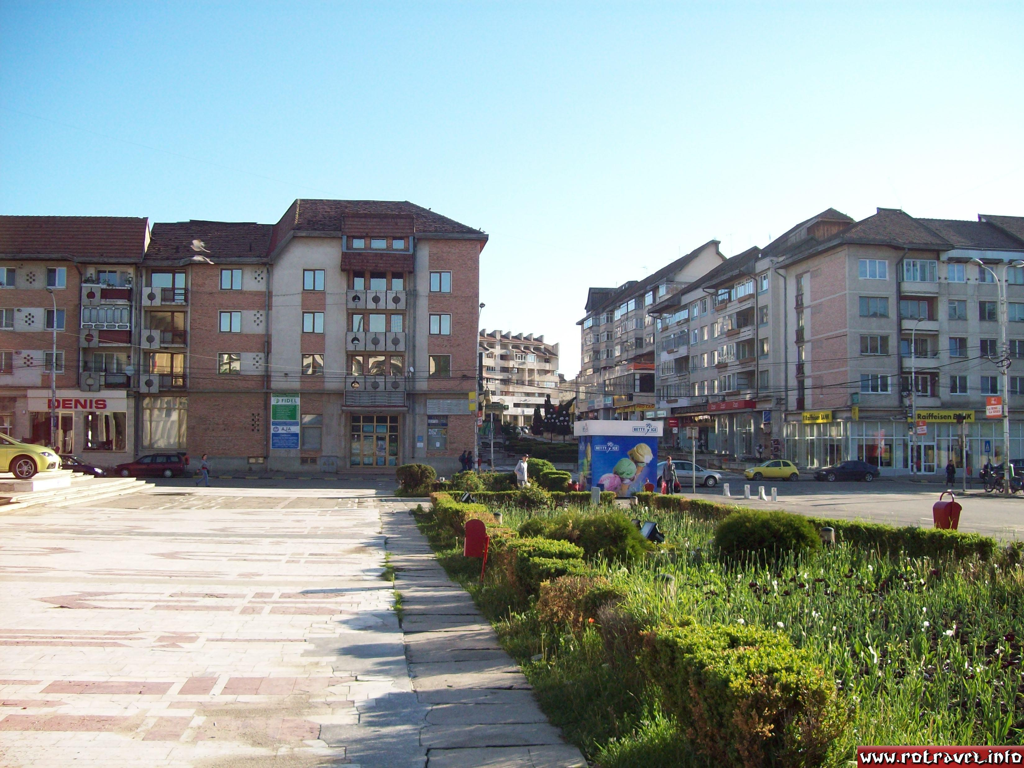 The center of Suceava