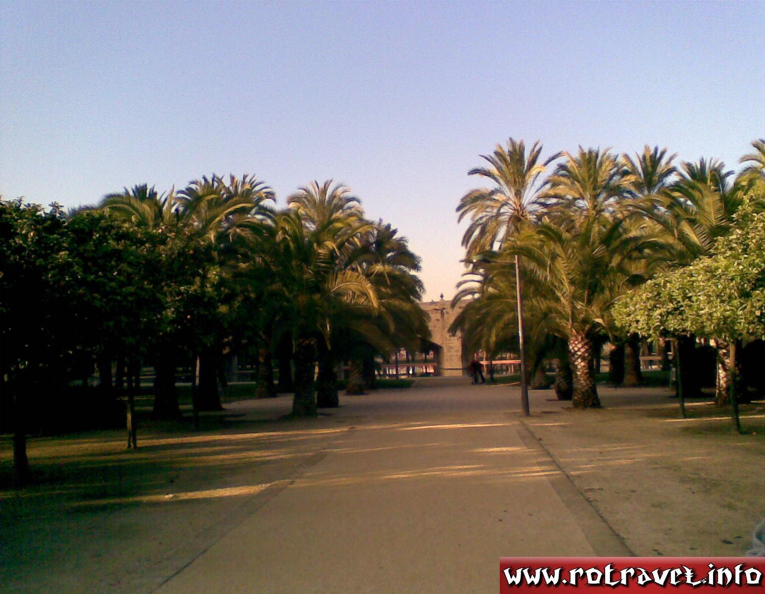 The park of Turia (garden)