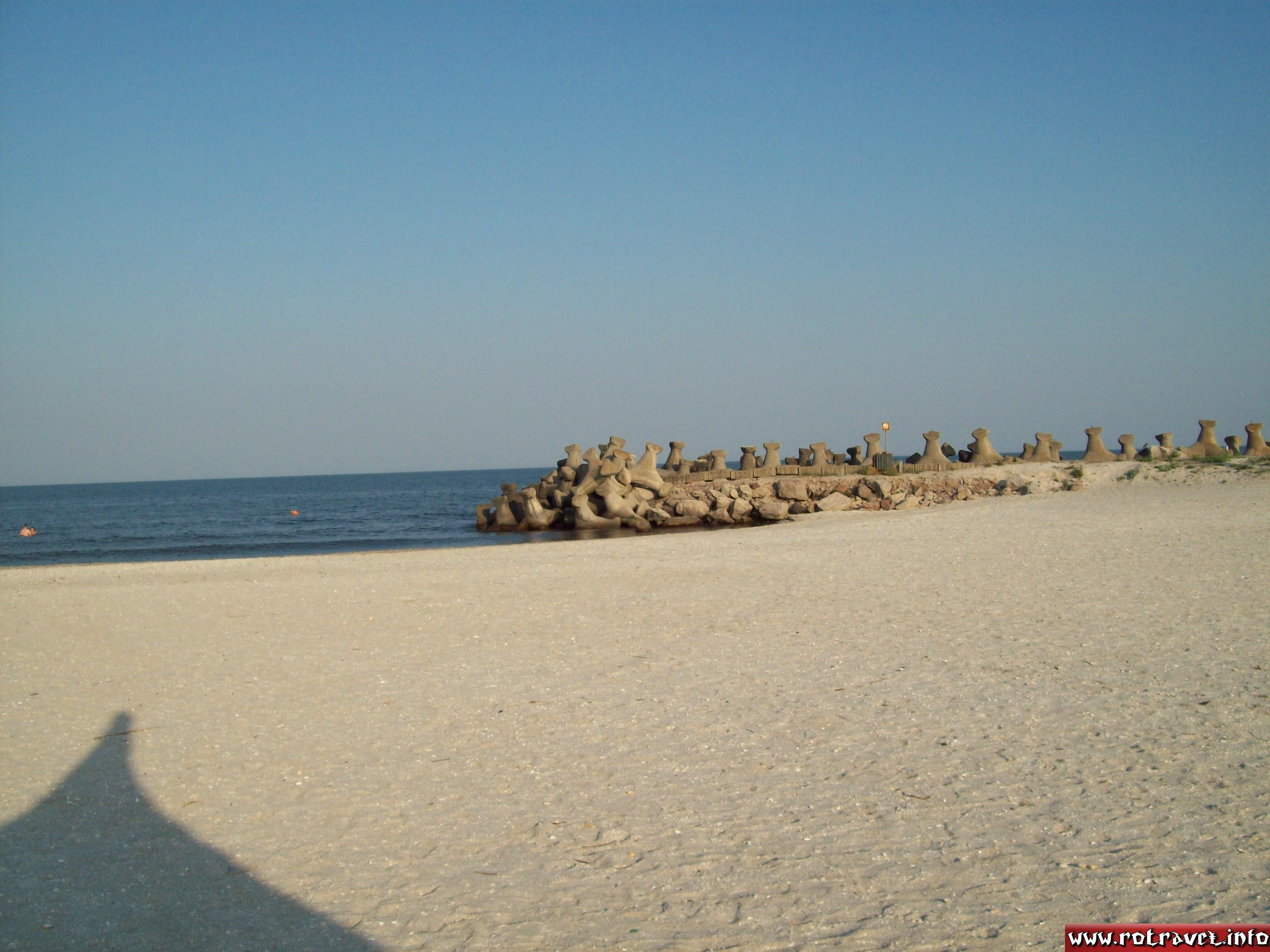 The beach and Black Sea
