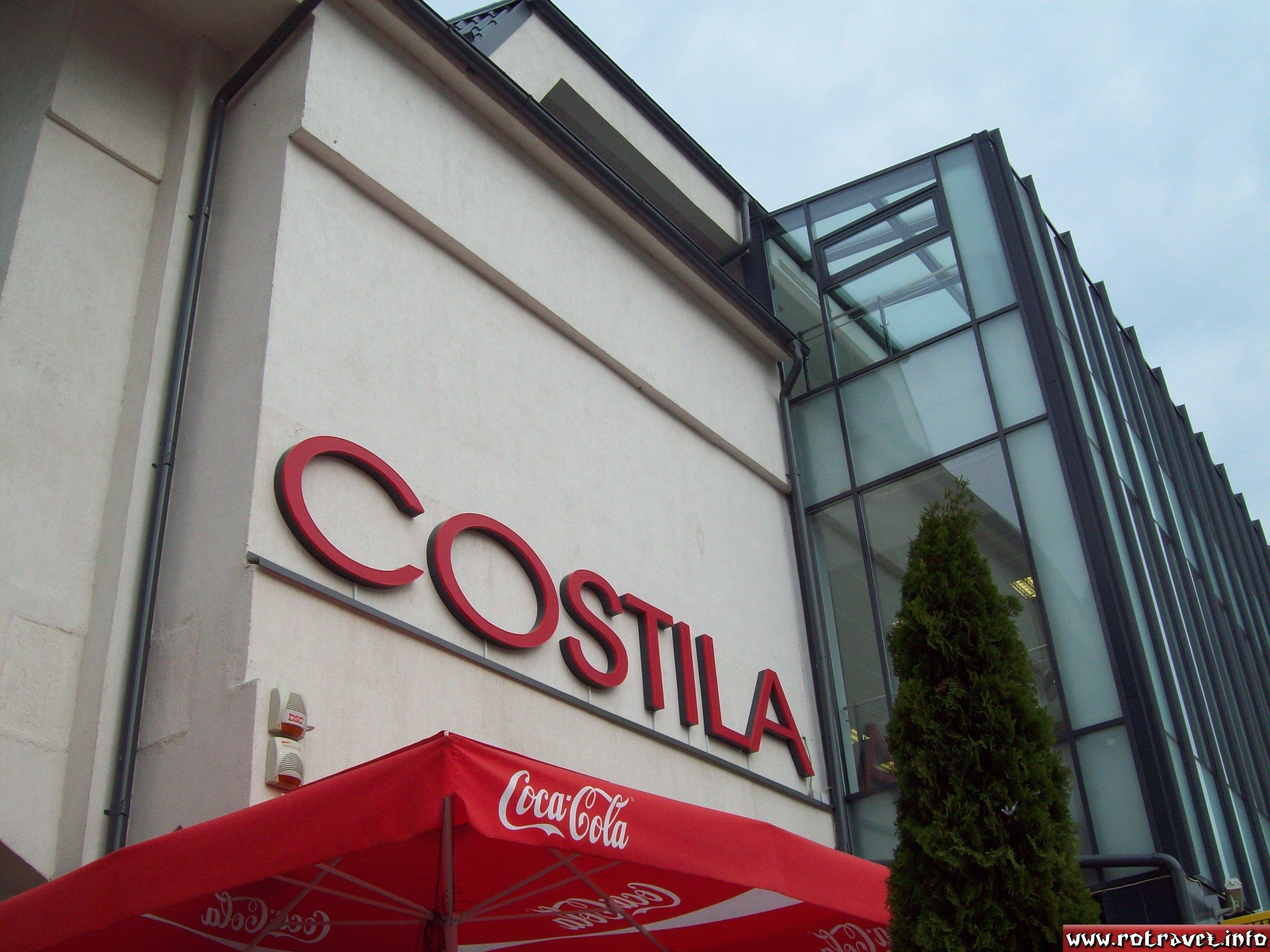 Costila-the new commercial center opened recently in Busteni