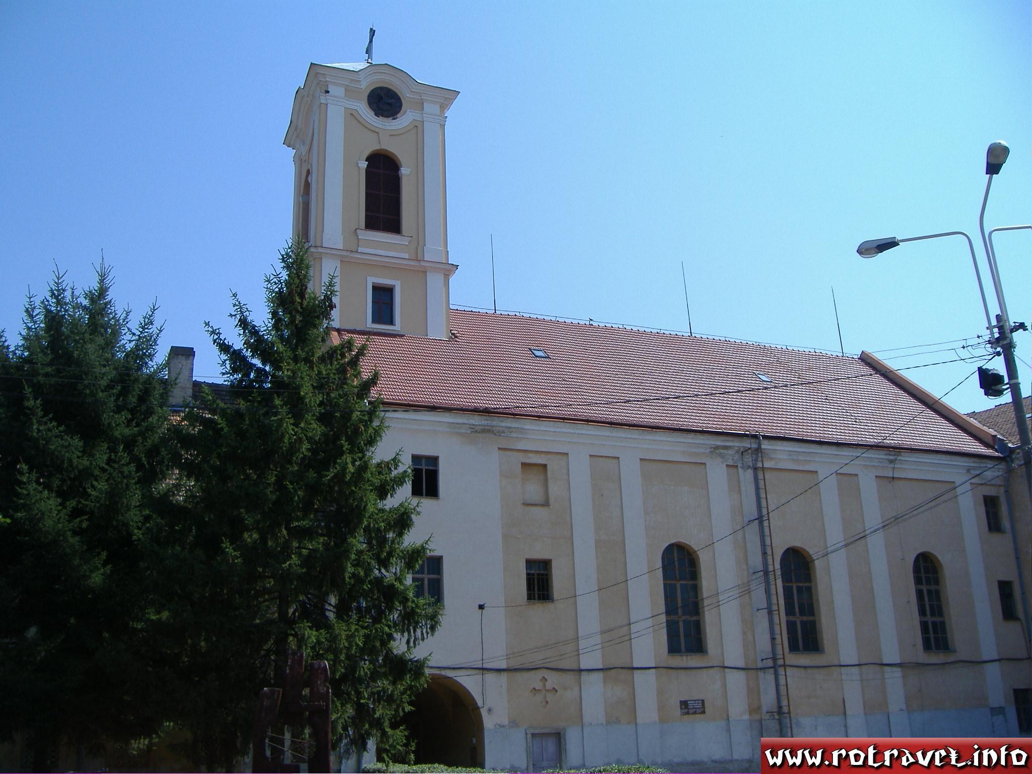Roman Catholic Church inside of fortress