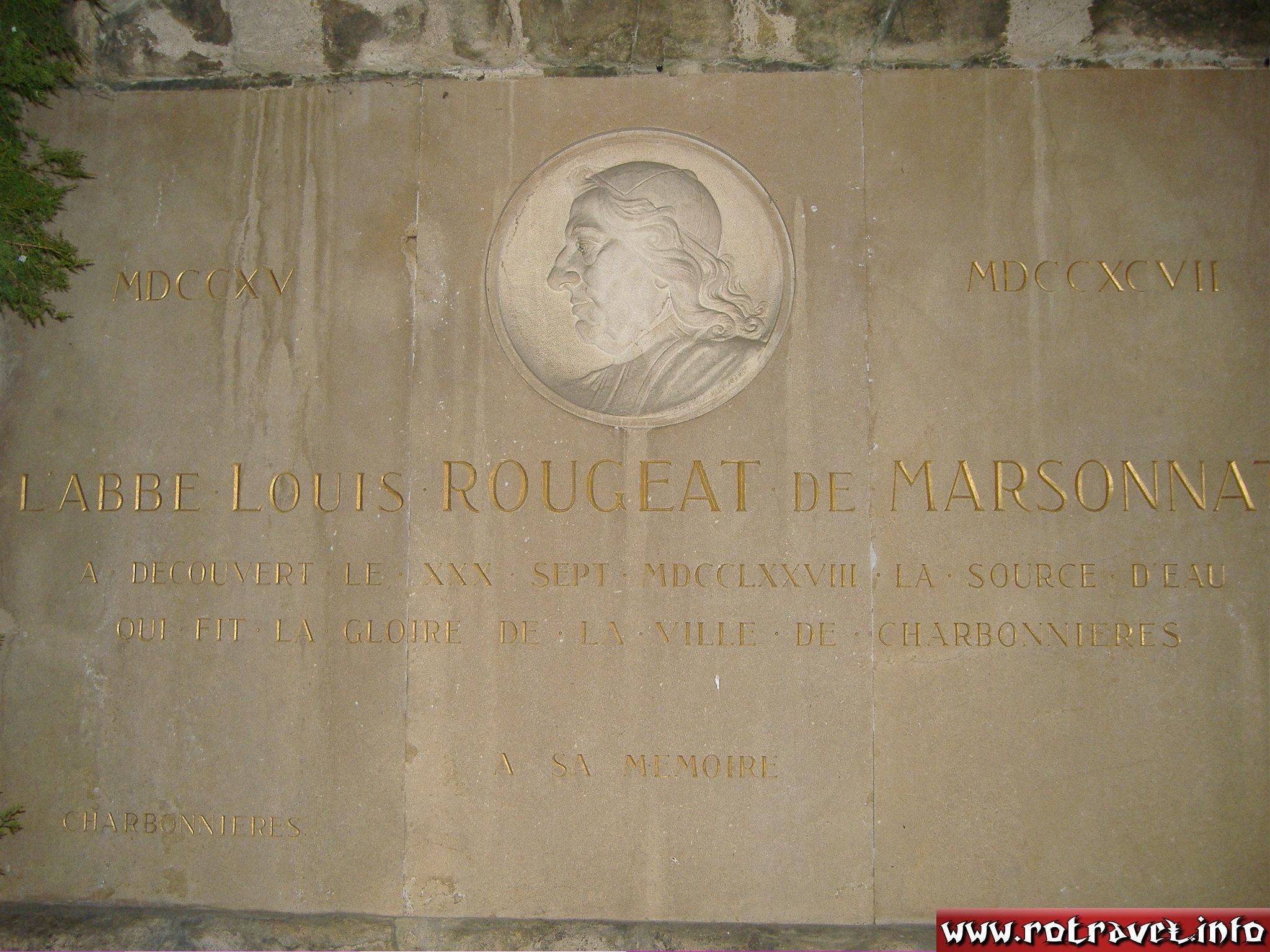 Louis ROUGEAT De MARSONNAT (the greatest man from Charbonnières-les-Bains)
