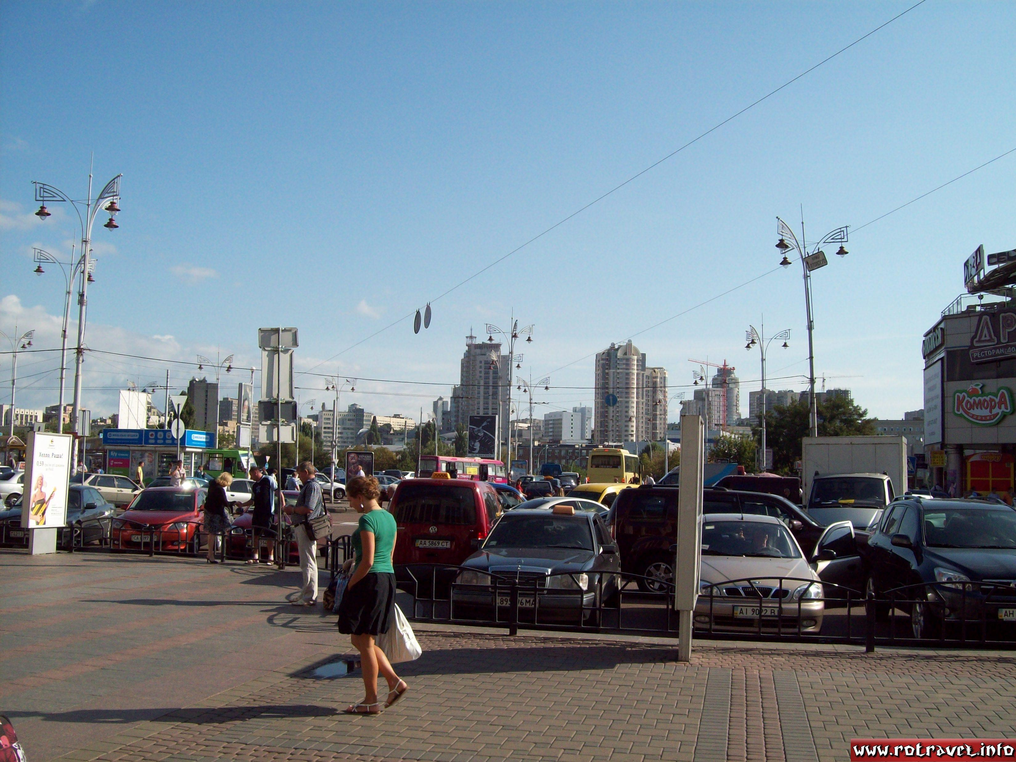 The first photo which i made outside of Kiev Railway Station :)