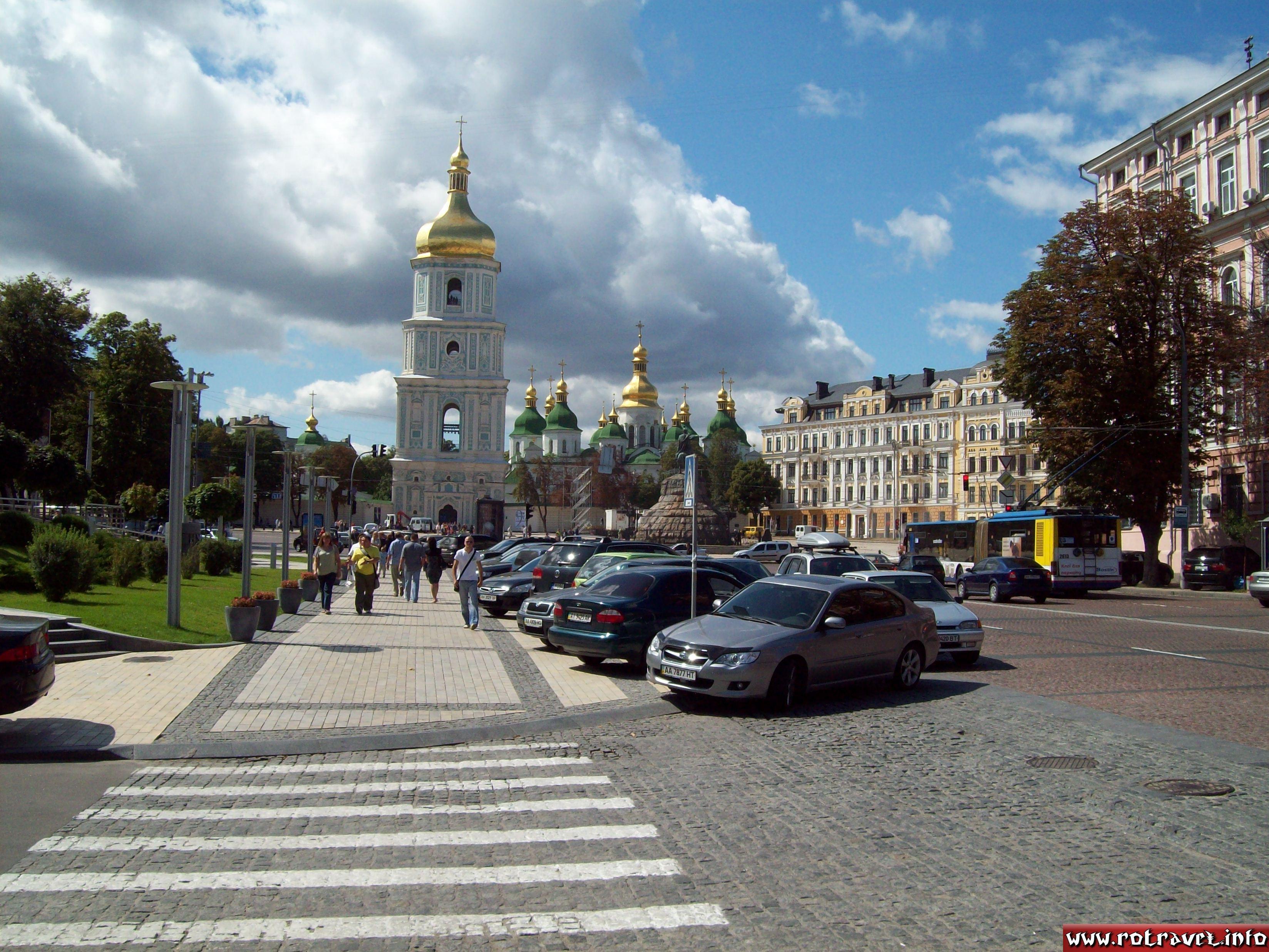 Saint Sophia Cathedral in Kiev (Собор Святої Софії); XII century