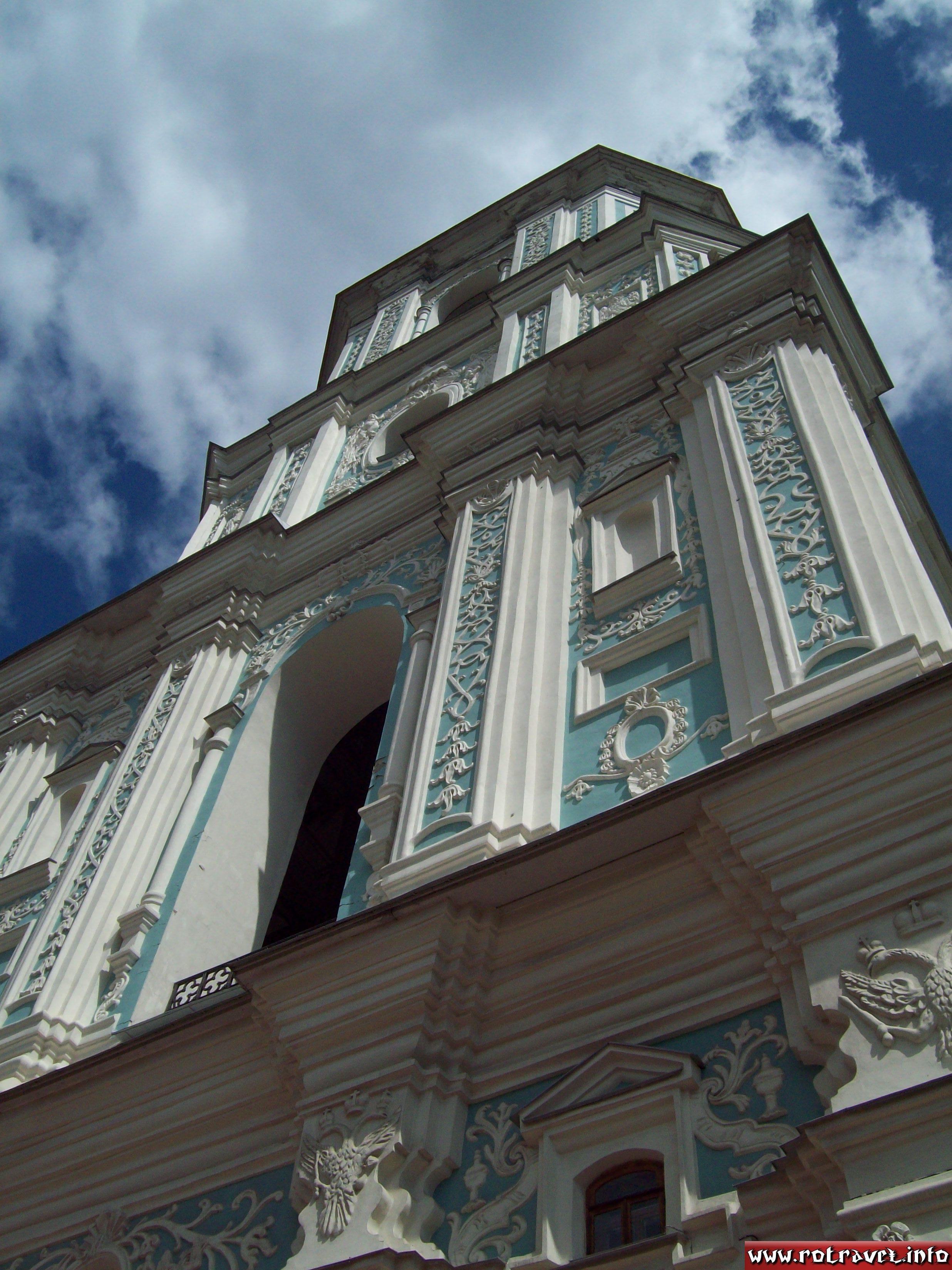 The belltower of the Saint Sophia