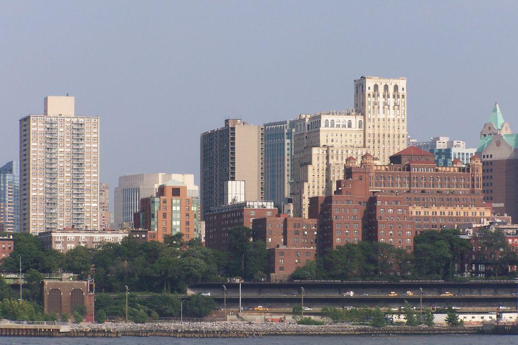 Blick auf Brooklyn