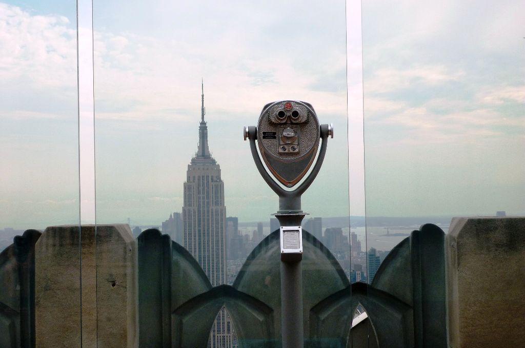 Blick auf das Empire State Building