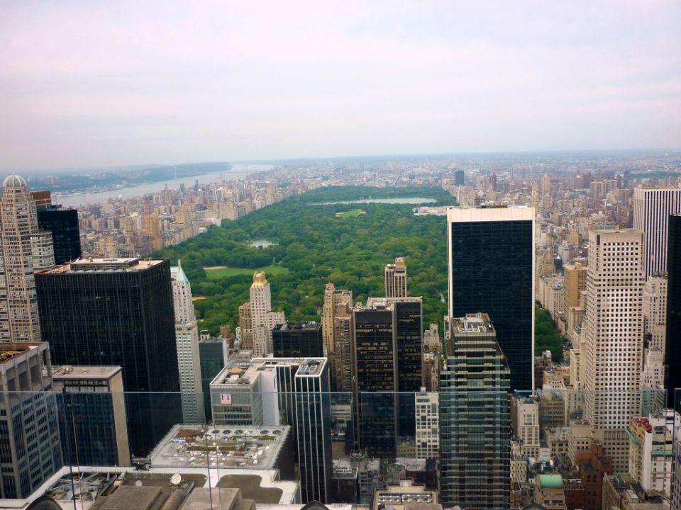 Central Park von oben