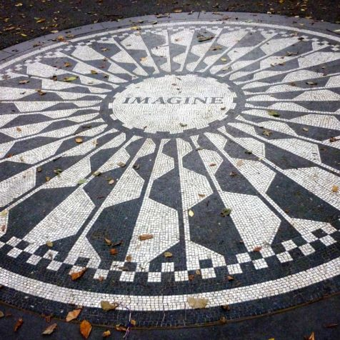 Strawberry Fields Central Park NY