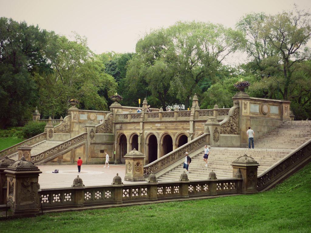 Bethesda Terrace Central Park New York