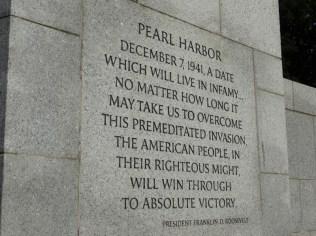 World War II Memorial DC