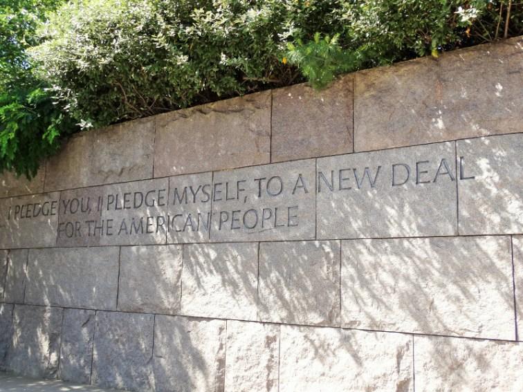 Franklin Delano Roosevelt Memorial Dc
