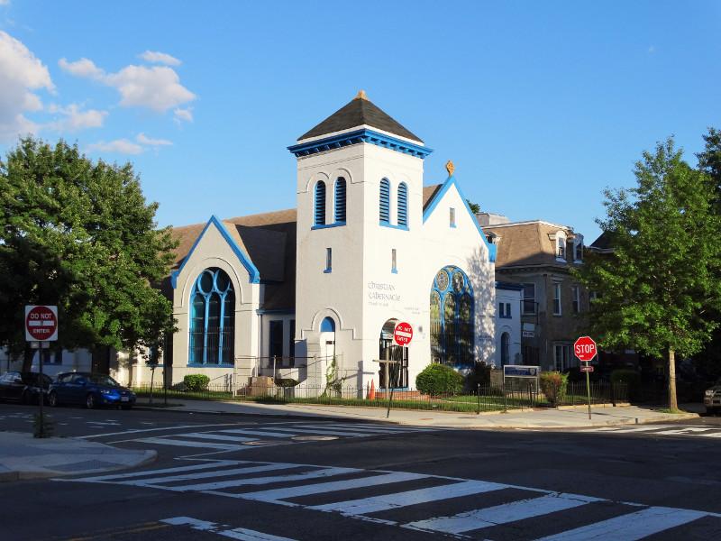 Weiße Kirche in der U Street DC