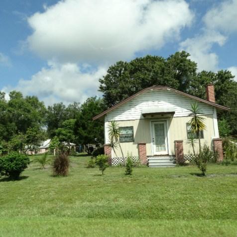 Kleines Haus entlang der Straße South Carolina