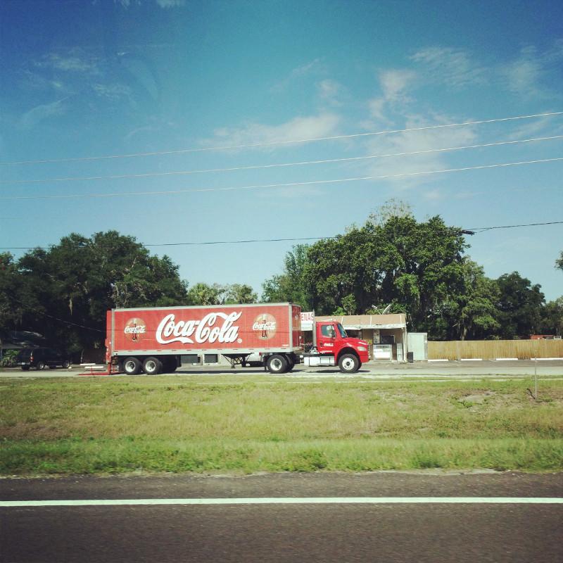 Coca Cola Truck Roadtrip USA