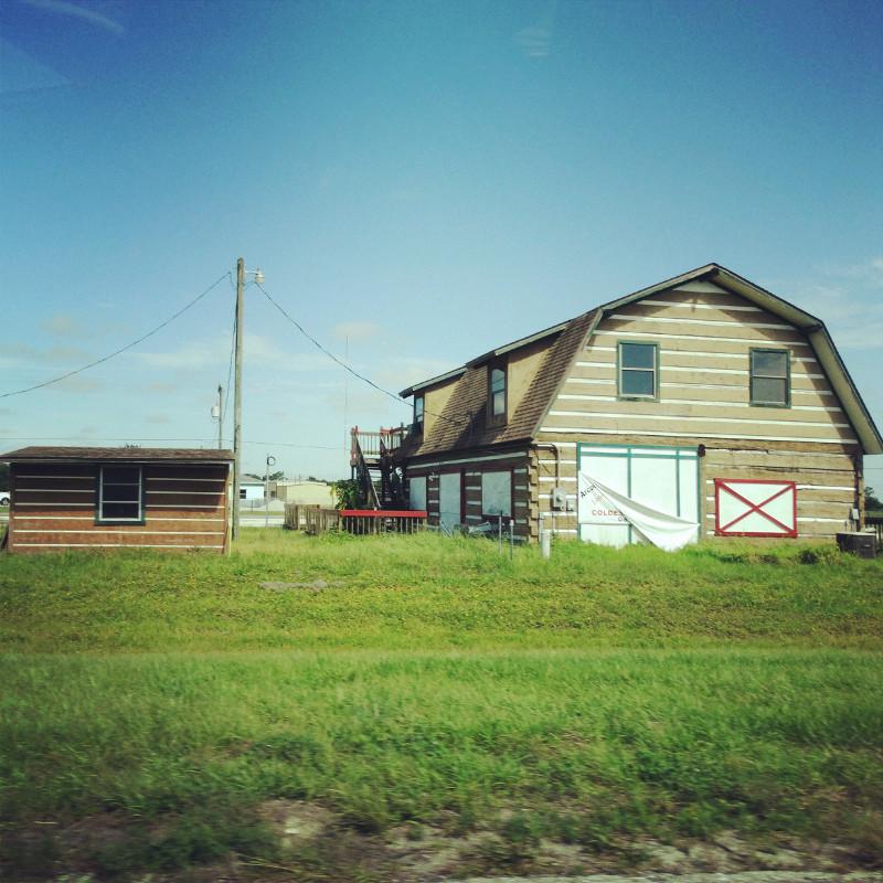 Farmhaus im Nirgendwo Roadtrip USA