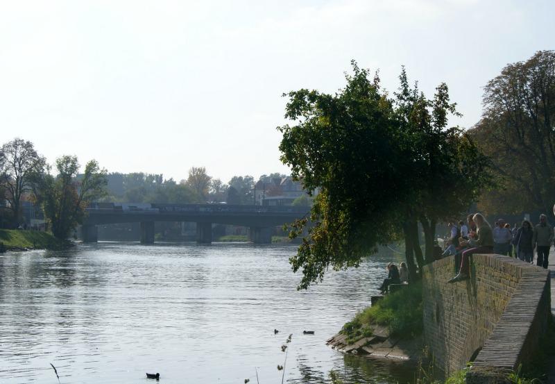 An der Donau in Ulm