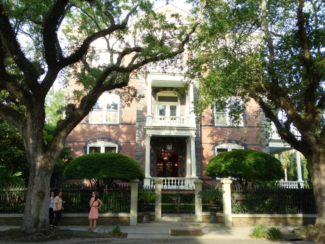 The Calhoun Mansion Charleston South Carolina - Drehort für Fackeln im Sturm und Wie ein einziger Tag
