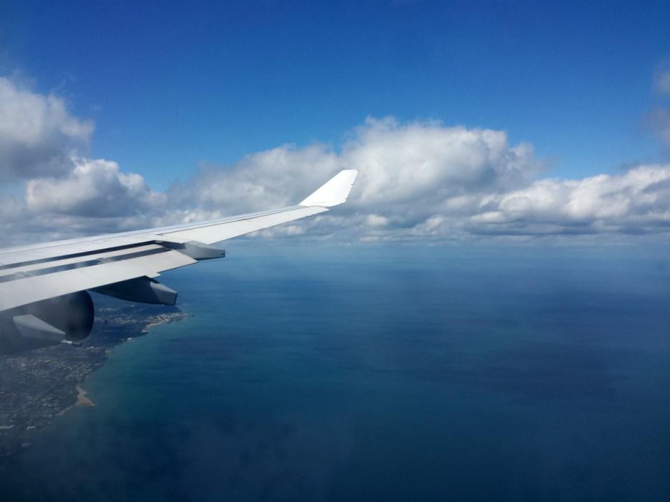 Lake Michigan - Im Landeanflug auf Chicago