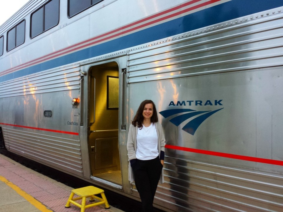 """Amtrak Zug """"City of New Orleans"""""""