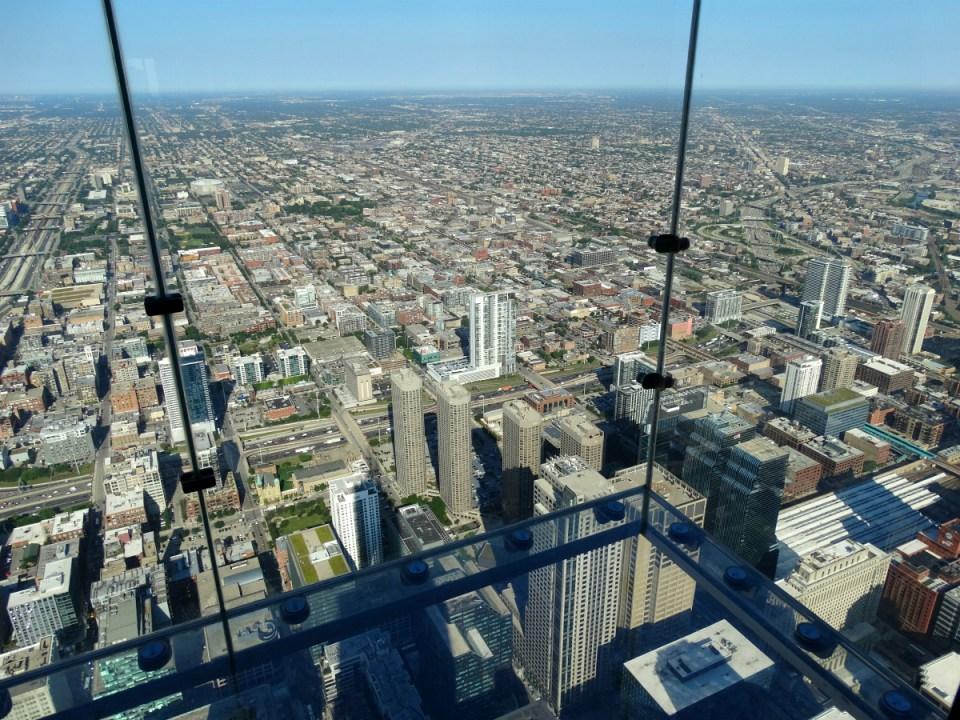Glasbalkon Willis Tower Chicago