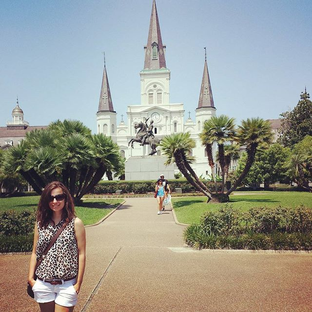 St. Louis Cathedral am Jackson Square