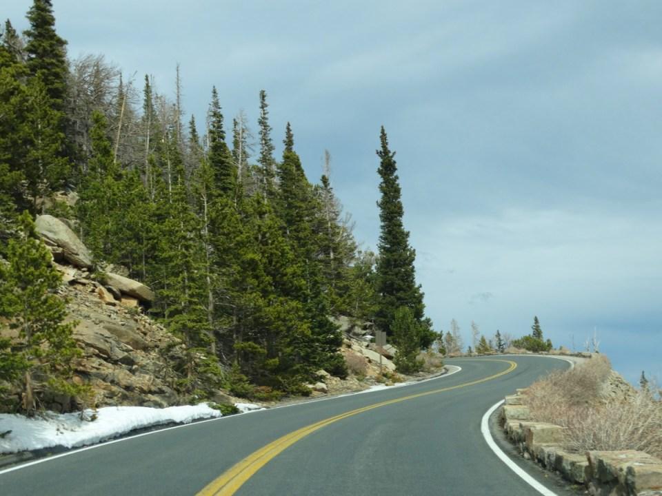 Trail Ridge Road Rocky Mountain Nationalpark