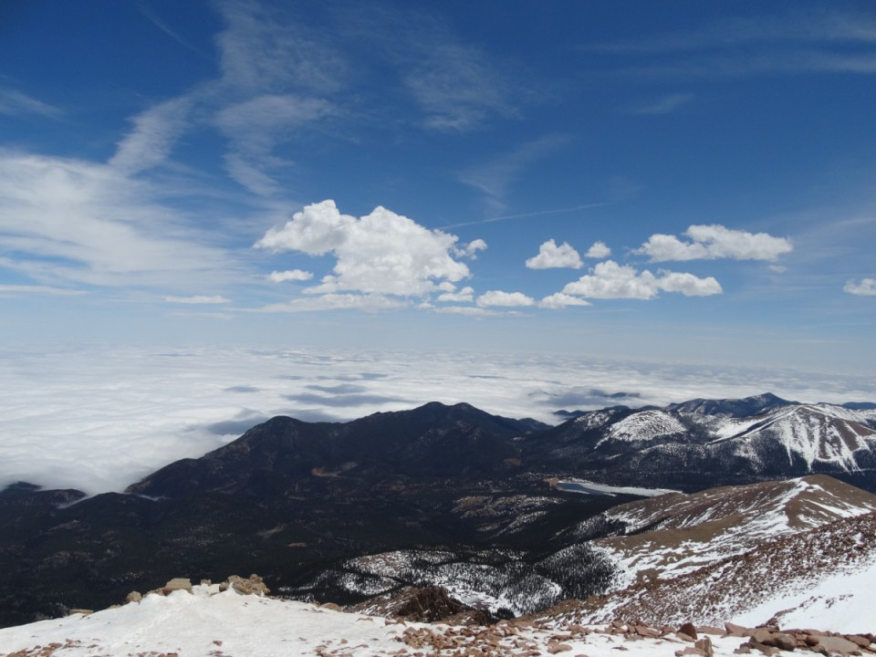 Pikes Peak view