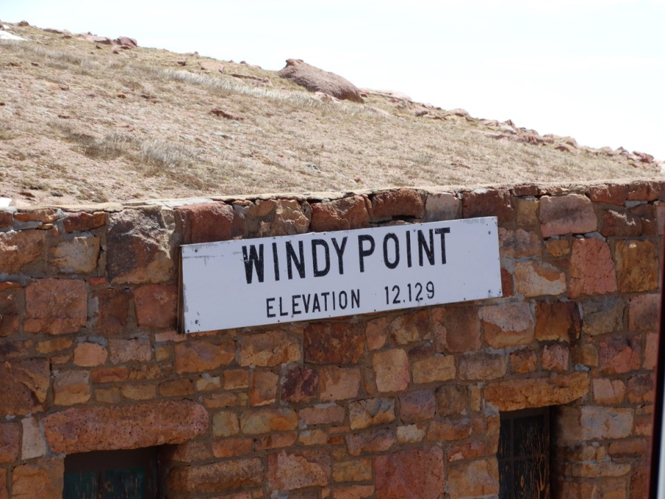 Windy Point Pikes Peak