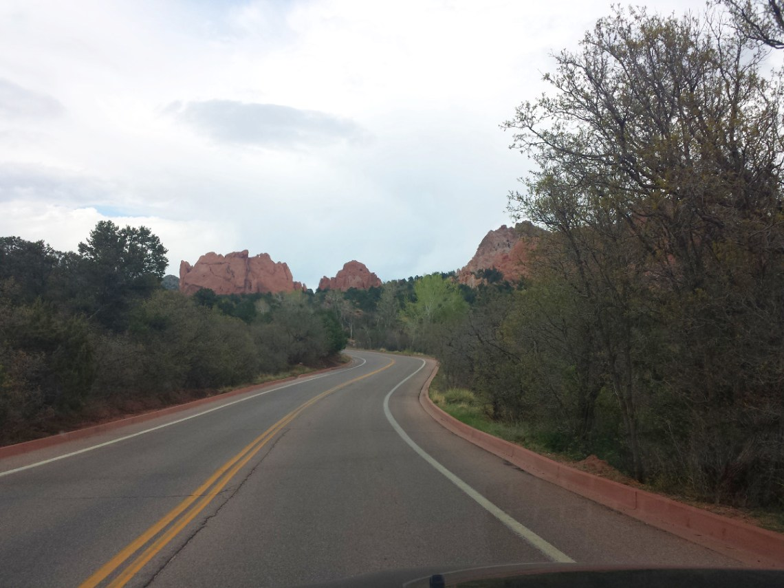 Scenic Drive Garden of the Gods
