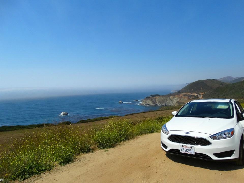 Entlang des Pacific Coast Highways in Kalifornien